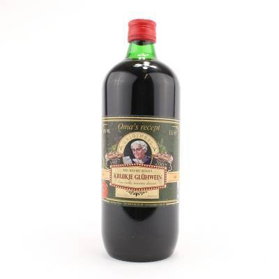 2646 - Jan Bax oma's glühwein rood 1000 ml