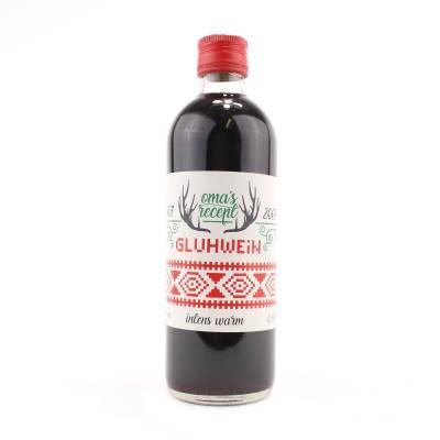 2647 - Jan Bax oma's glühwein rood 500 ml
