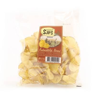 4020 - Jan Bax pieper sjips zeezout 150 gram