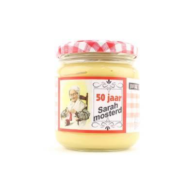 4050 - Jan Bax sarah mosterd in glazen potje 180 gram