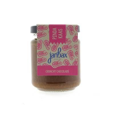 4327 - Jan Bax pindakaas crunchy chocolade 200 gram