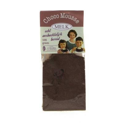 4360 - Jan Bax chocolademousse melk 100 gram