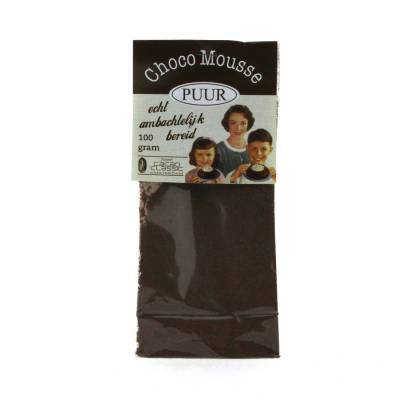 4361 - Jan Bax chocolademousse puur 100 gram