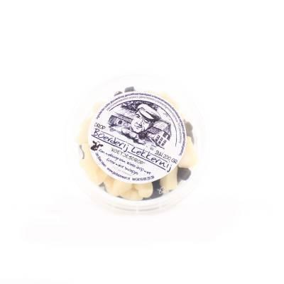 4375 - Jan Bax boeren lekkernij koetjesdrop tonnetje 200 gram