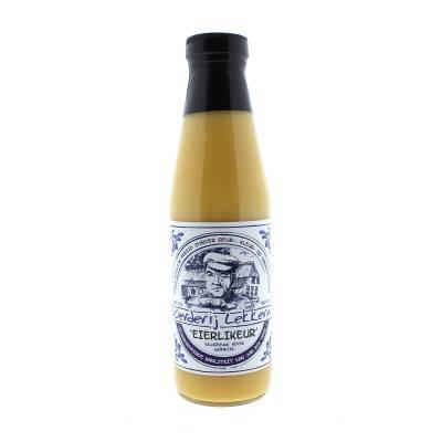 4381 - Jan Bax boeren lekkernij eierlikeur naturel 500 ml