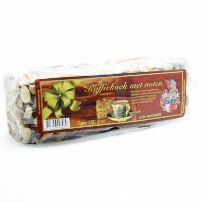 3401 - Jan Bax koffiekoek met noten 500 gram