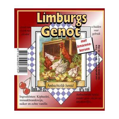 4267 - Jan Bax limburgs genot amarenekersen 200 ml