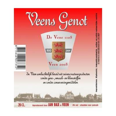 4278 - Jan Bax veens genot naturel 200 ml