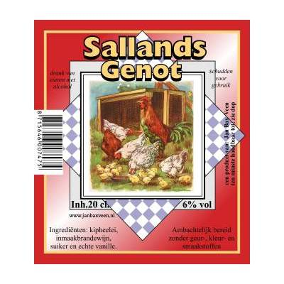 4225 - Jan Bax sallands genot naturel 200 ml