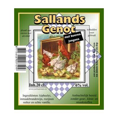 4226 - Jan Bax sallands genot boerenjongens 200 ml