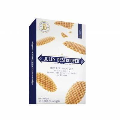 4662 - Jules de Strooper parijse / butter wafels 50 gram