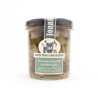 10803 - Kesbeke j&o komkommermaantjes 350 ml