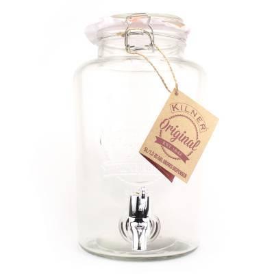5558 - Kilner drankdispenser 5 liter rond met kraantje 1 stuk