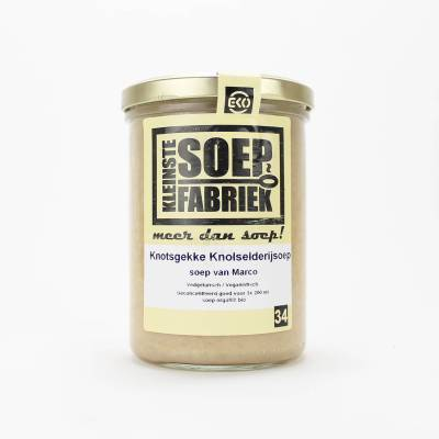 3953 - Kleinste Soepfabriek knotsgekke knolselderijsoep BIO 400 ml