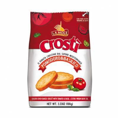 2592 - La Mole crostì tomaat basilicum 100 gram