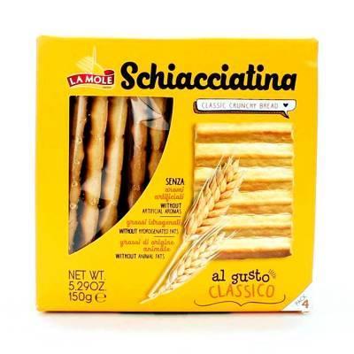 2602 - La Mole schiacciatine classic 150 gram