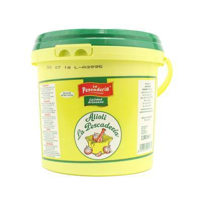 4084 - La Pescaderia alioli grootverpakking 2000 gram