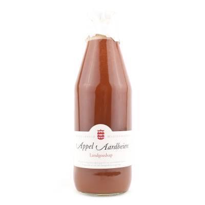 14001 - Mariënwaerdt appel aardbeiensap 750 ml