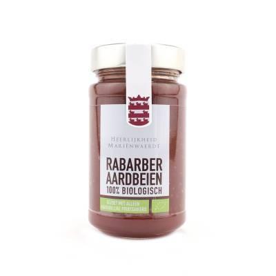 14027 - Mariënwaerdt rabarber aardbeien moestuinjam 350 gram