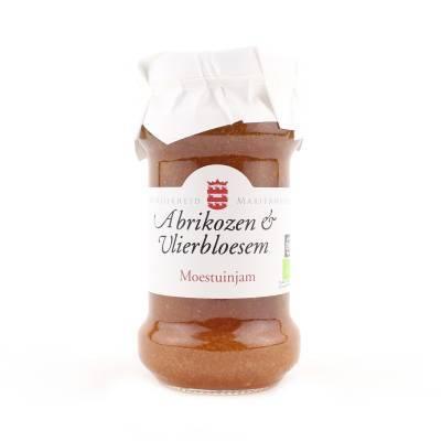14090 - Mariënwaerdt abrikozen vlierbloesemjam 240 gram