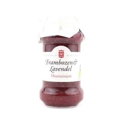 14093 - Mariënwaerdt frambozen lavendeljam 240 gram