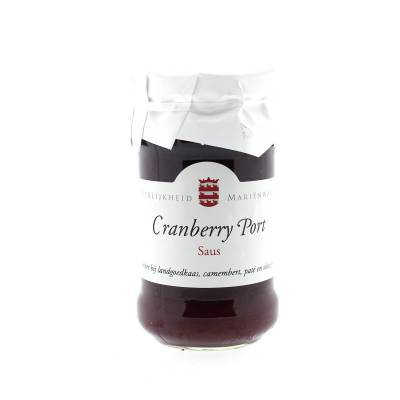14240 - Mariënwaerdt cranberry portsaus 350 gram