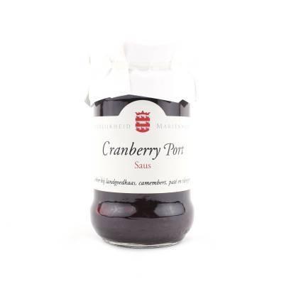 14401 - Mariënwaerdt cranberry portsaus grootverpakking 760 gram