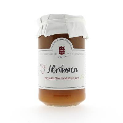 14421 - Mariënwaerdt abrikozen moestuinjam 270 gram