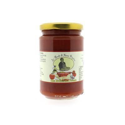 13105 - Di Nonna Pippina sugo mediterranea piccante 300 gram