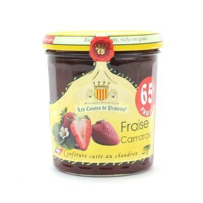 4620 - Les Comtes de Provence aardbei camarosa 340 gram