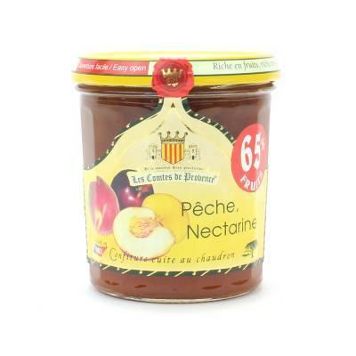 4624 - Les Comtes de Provence perzik nectarine 340 gram