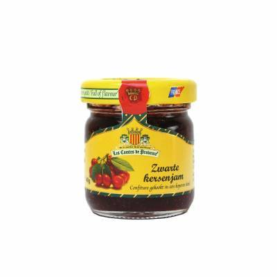4614 - Les Comtes de Provence zwarte kersen mini 40 gram