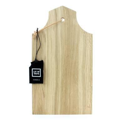 6743 - Liv 'n Taste eiken plank huis A Halsgevel 35x20cm