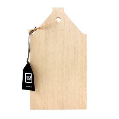 6748 - Liv 'n Taste beuken plank klein huis C 1 stuk