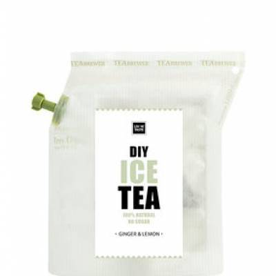 6790 - Liv 'n Taste teabrewer ice tea ginger-lemon 9 gram