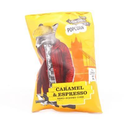 19582 - London Popcorn popcorn caramel & espresso 30 gram