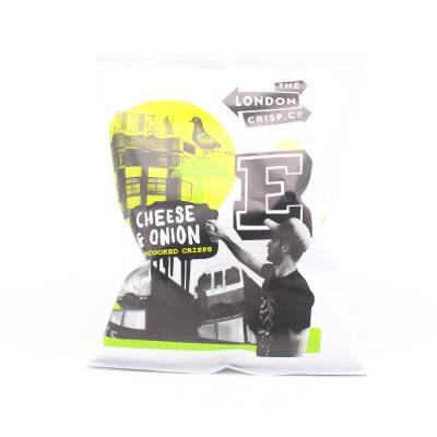 19562 - London Crisp cheese & onion chips 150 gram