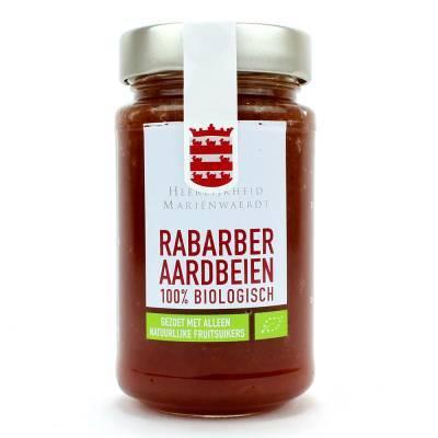 14110 - Mariënwaerdt 100% fruit rabarber aardbei 250 gram