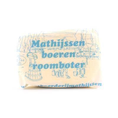 3350 - Mathijssen boeren roomboter 250 gram