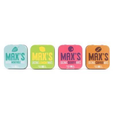 91105 - Max's Mints mixdoos 4 smaken 1 stuk