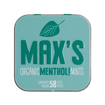 91106 - Max's Mints organic menthol mints 35 gram