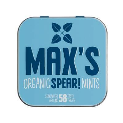 91107 - Max's Mints organic spear mints 35 gram