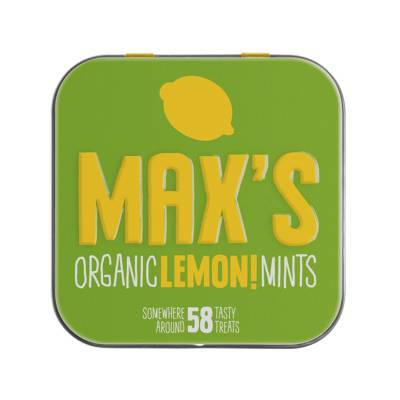 91109 - Max's Mints organic lemon mints 35 gram