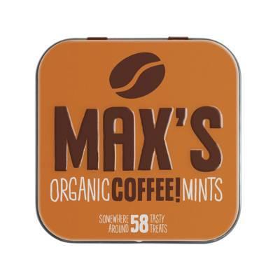 91111 - Max's Mints organic coffee mints 35 gram