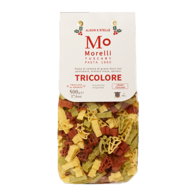 131228 - Morelli tricolor winterpasta 250 gram