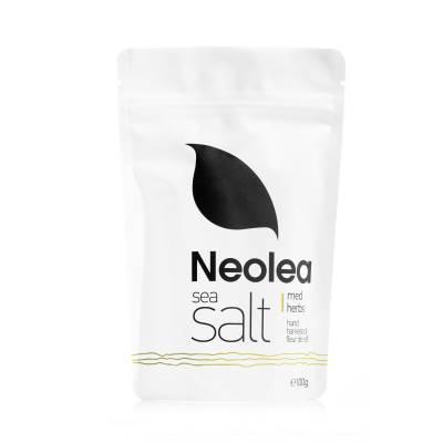 8995 - Neolea sea salt refill bag med herbs 100 gram