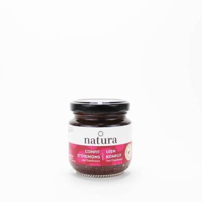 9757 - Natura Uien Konfijt met frambozen 150 gram