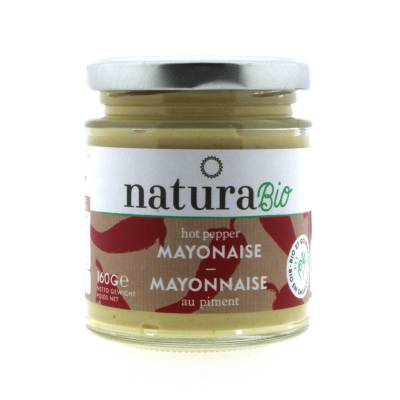9840 - Natura Hot Pepper Mayonaise BIO 160 gram
