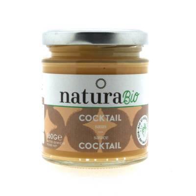 9843 - Natura Cocktail saus BIO 160 gram