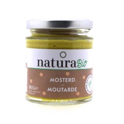 9844 - Natura Mosterd BIO 180 gram